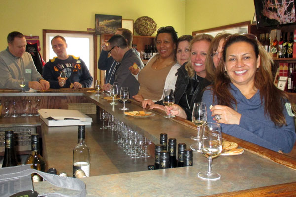 Niagara Wine Tour with Friends